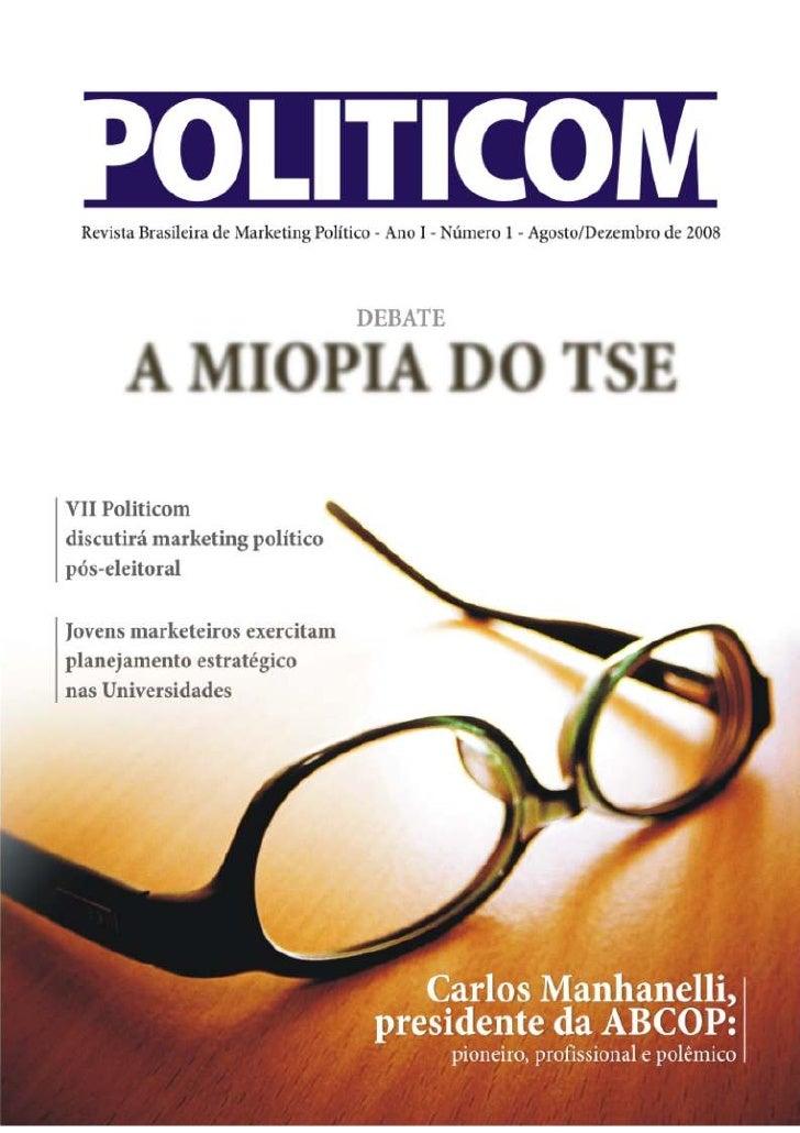 Revista Politicom - Ano 1 - Nº 1 - Ago-Dez 2008