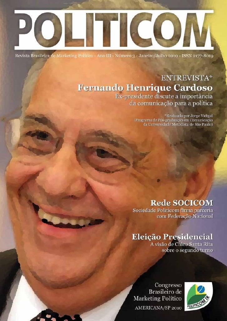 Revista Politicom - Ano 3 - Nº 3 - Jan-Jul 2010