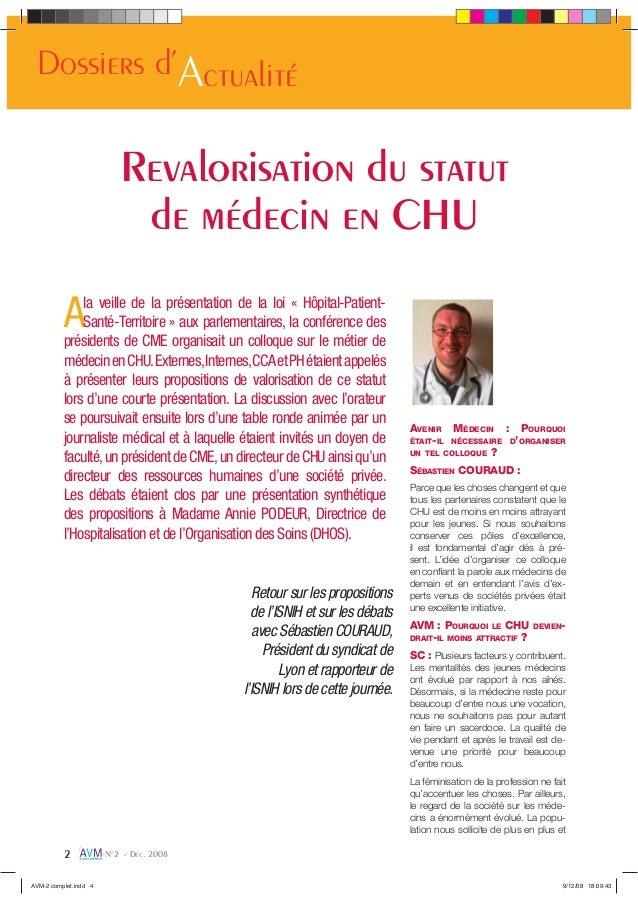 Retour sur les propositions de l'ISNIH et sur les débats avec Sébastien COURAUD, Président du syndicat de Lyon et rapporte...