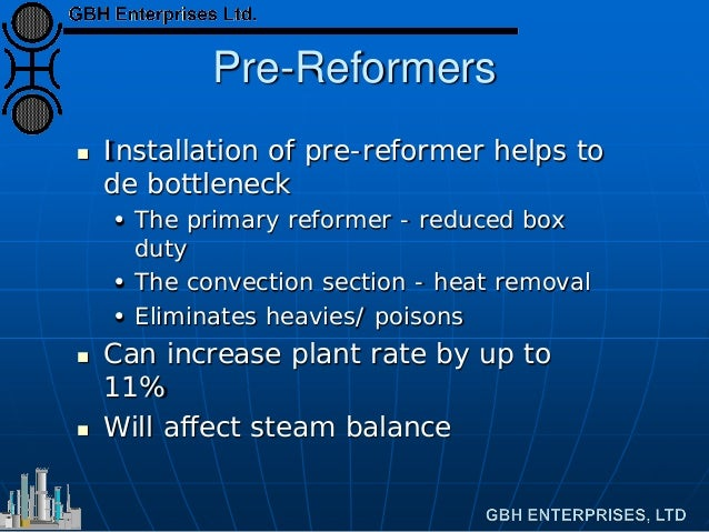 Revamps For Ageing Ammonia Plants