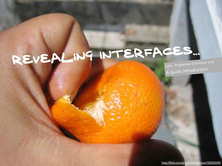 ling inter faceS... revea                (aka. Progress                                     ive Disc                      ...