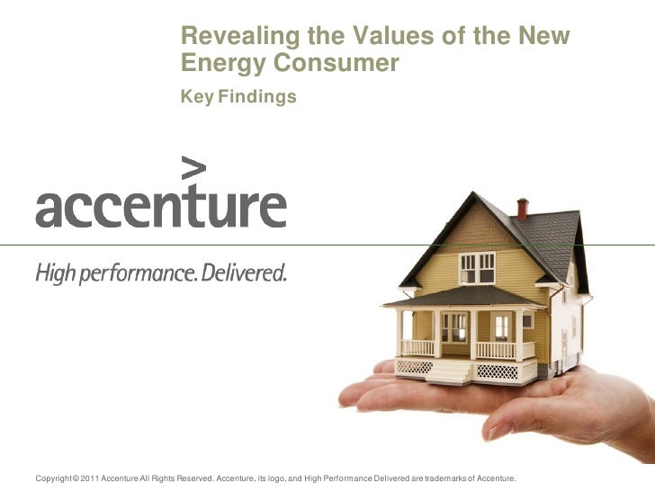 Revealing the Values of the New                                      Energy Consumer                                      ...