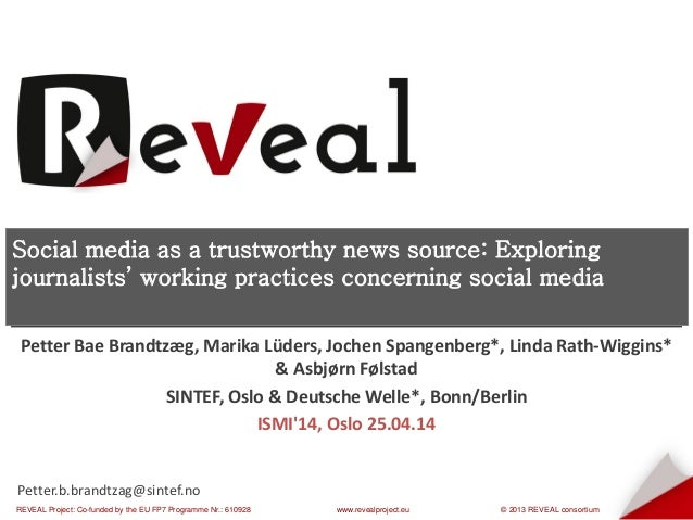 REVEAL Project: Co-funded by the EU FP7 Programme Nr.: 610928 www.revealproject.eu © 2013 REVEAL consortium Your Name – Yo...