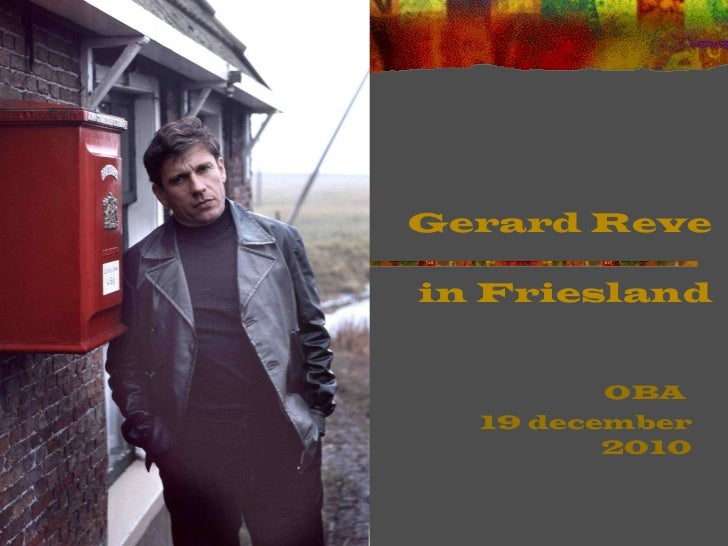 Gerard Reve in Friesland, OBA