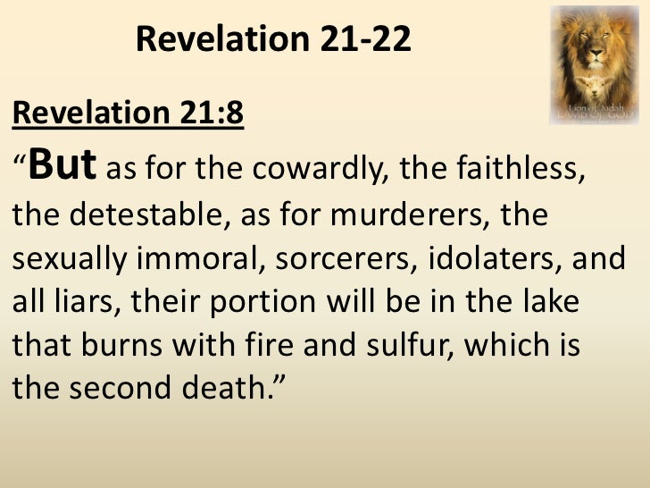 Revelations 21 1 8 Revelation 21 1 8 The Ultimate