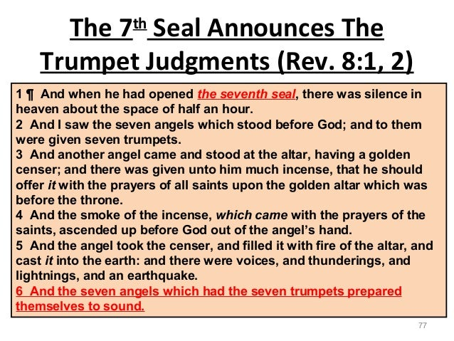 The Seventh Seal Of Revelation