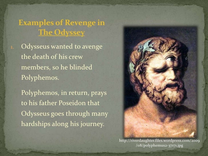odyssey and the cyclops essay example Odyssey essay uploaded by api-381889051 related homer's odyssey tells the story of a greek hero, odysseus, and his adequate leader over the course of his trials, he loses every single member of his crew he does not set a positive example for others odysseus is selfish.