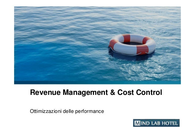 Revenue Management & Cost ControlOttimizzazioni delle performance                                   YOUR LOGO