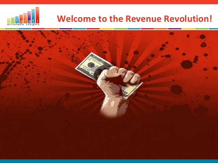 Welcome to the Revenue Revolution!