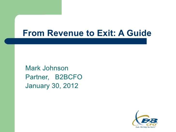 From Revenue to Exit: A Guide to a Successful Business