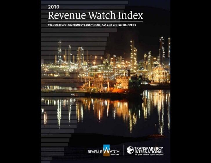 Revenue Watch Index & results-Quiroz