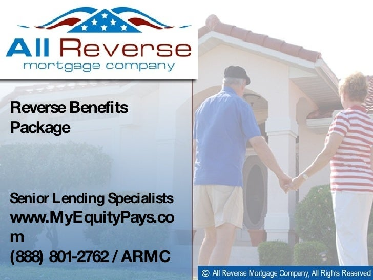 Cliff Auerswald / Sales Manager  Cliff Auerswald / Reverse Mortgage Specialist  Reverse Benefits Package  Senior Lending S...
