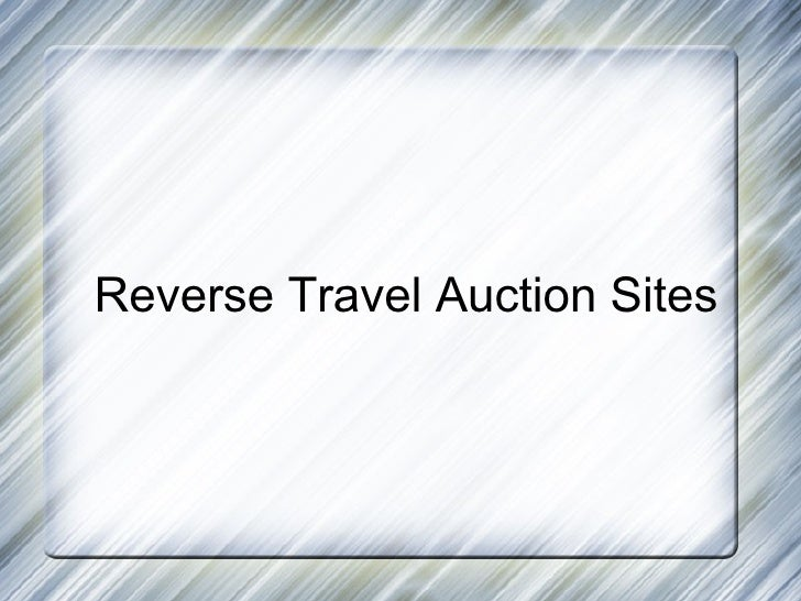 Reverseauctionright