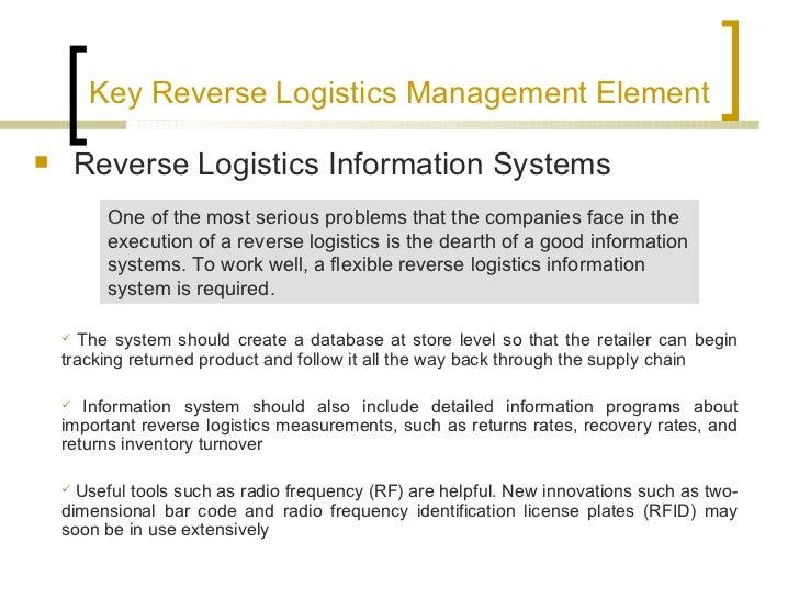 Reverse logi... Reverse Logistics Center