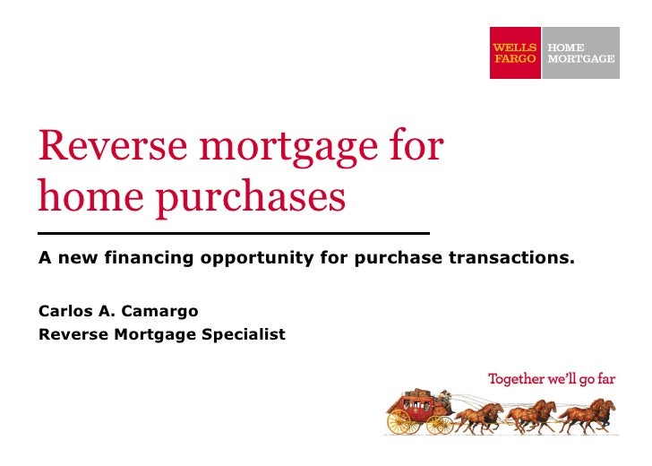 Reverse Mortgage For Home Purchases[1]