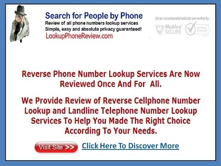 Best reverse phone number site