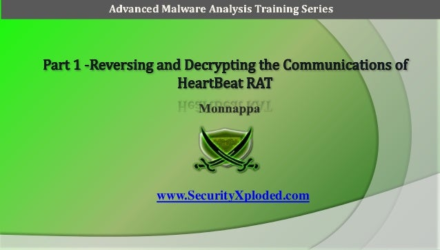 Reversing and decrypting the communications of HeartBeat Rat - Part1