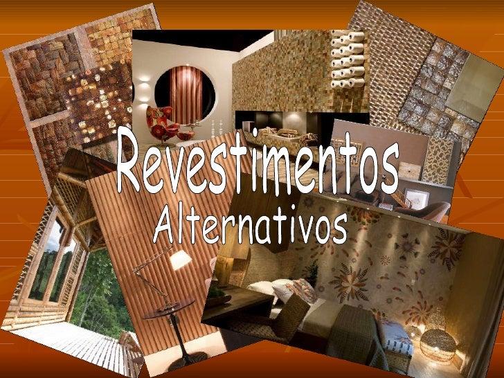Revestimentos Alternativos