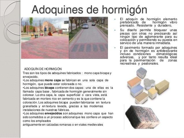 Revestimiento de pisos adoquines - Adoquines de hormigon ...