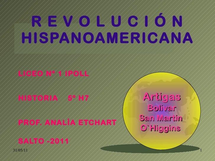 Revolución Hispanoamericana