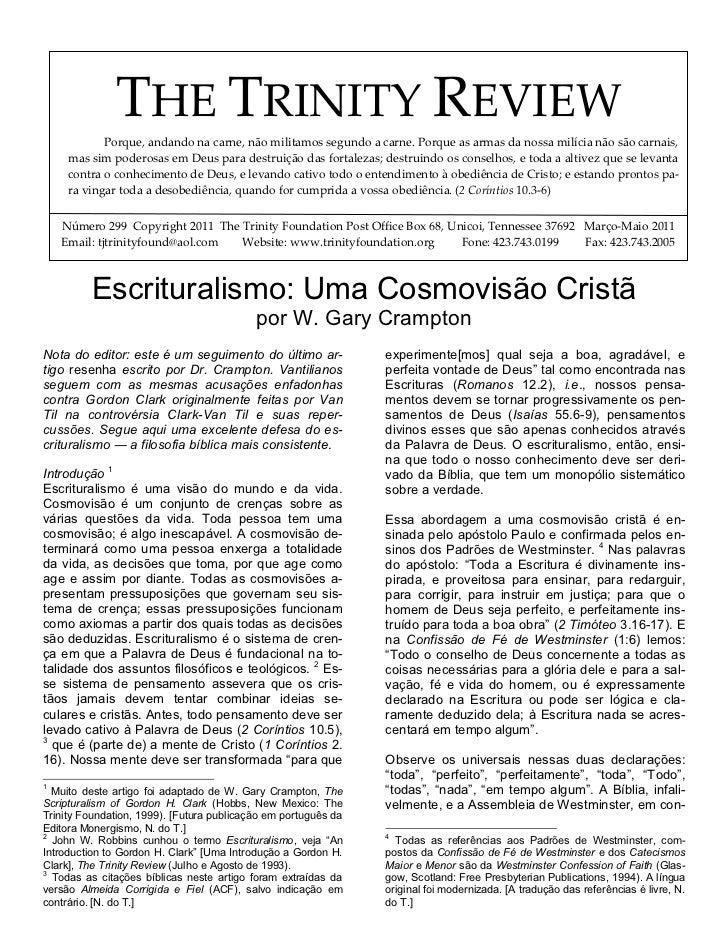 Review 299-escrituralismo-cosmovisao crampton