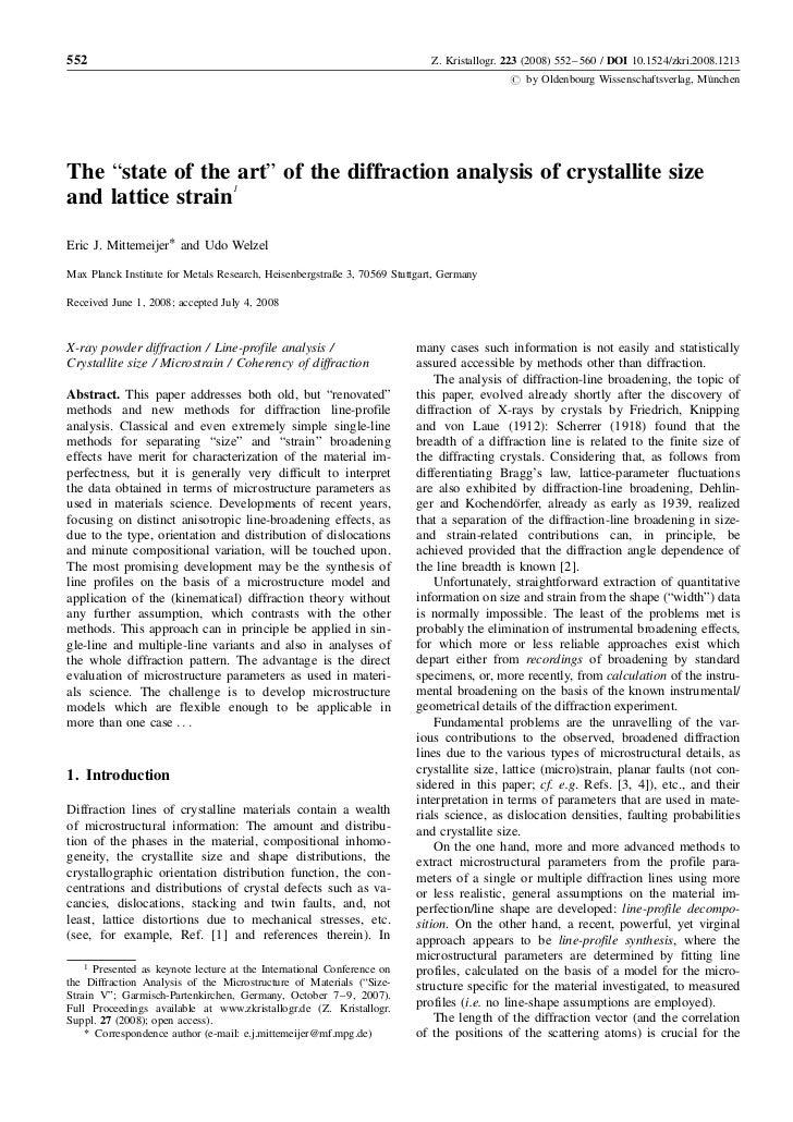 552                                                                         Z. Kristallogr. 223 (2008) 552–560 / DOI 10.15...