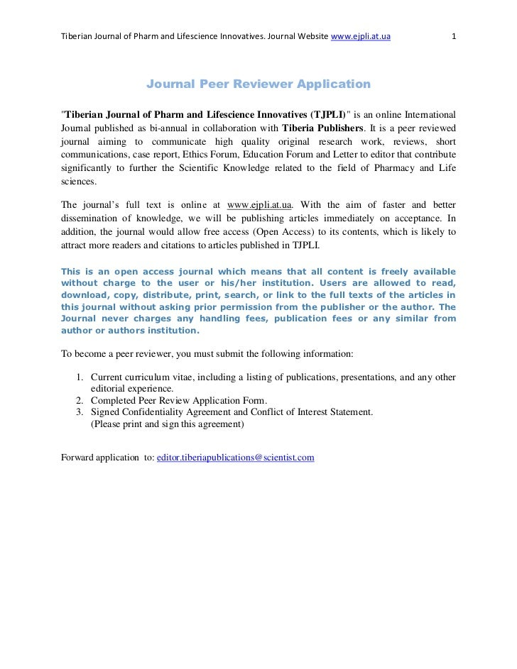 Tiberian Journal of Pharm and Lifescience Innovatives. Journal Website www.ejpli.at.ua         1                      Jour...