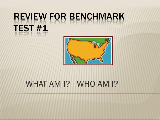 Review for benchmark #1-
