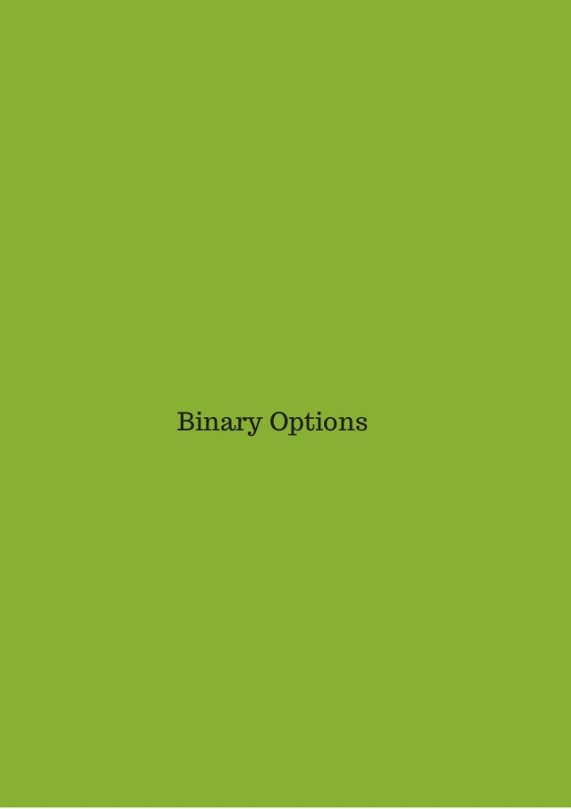 Binary options method