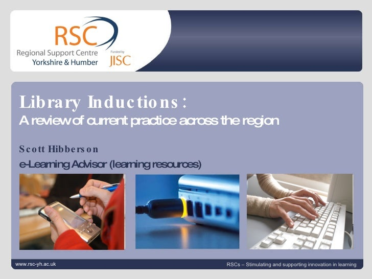 Review Of Library Inductions