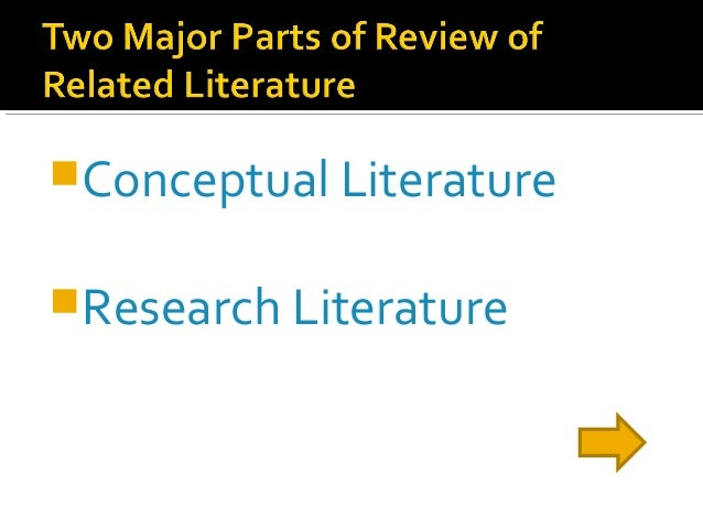 thesis chapter 2 review of related literature and studies The body of literature includes all studies that address related or  2 literature search -- finding  you could order a review of literature on environmental.