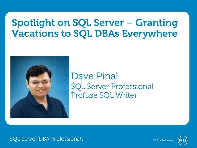 Review of Spotlight on SQL Server