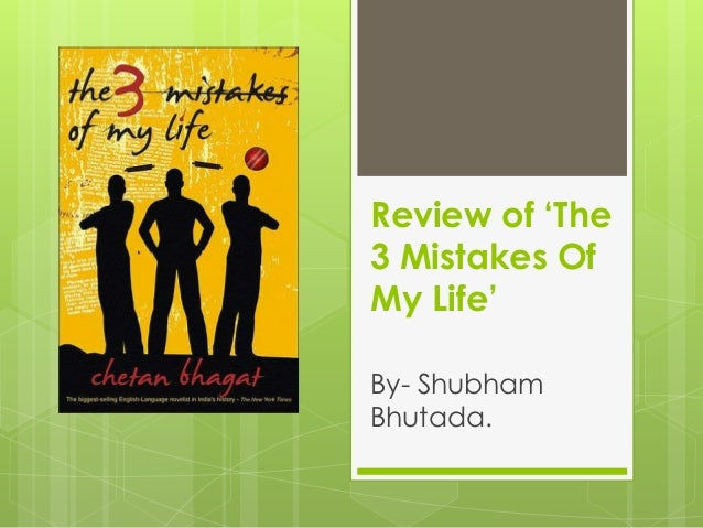 the three mistakes of my life Thank-you so much for taking the time to leave a comment, i love reading them all i will reply to your comments here if get a scope have a lovely day.