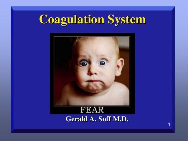 Coagulation System  Gerald A. Soff M.D.  1