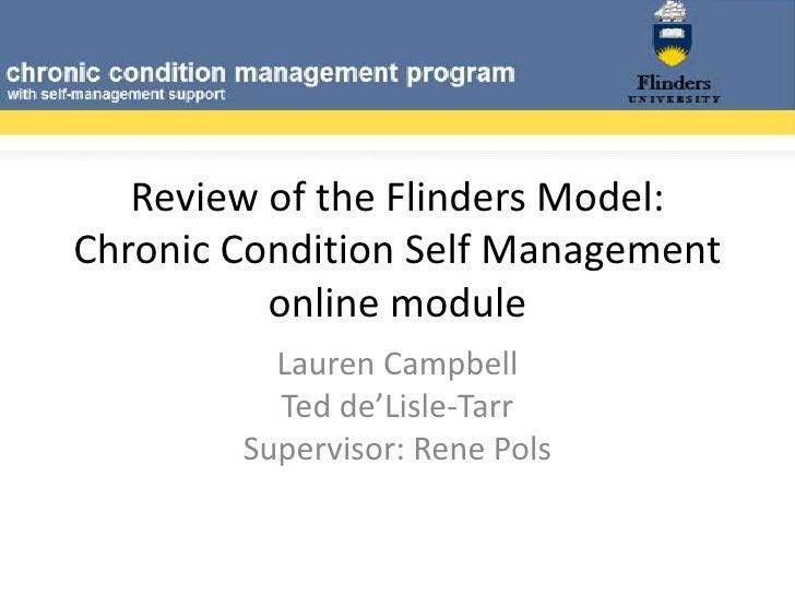 Review of the flinders model