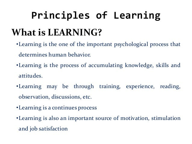 principles of teaching and learning in / courses & programs / principles of teaching and learning in elementary education edu 260 principles of teaching and learning in elementary education.