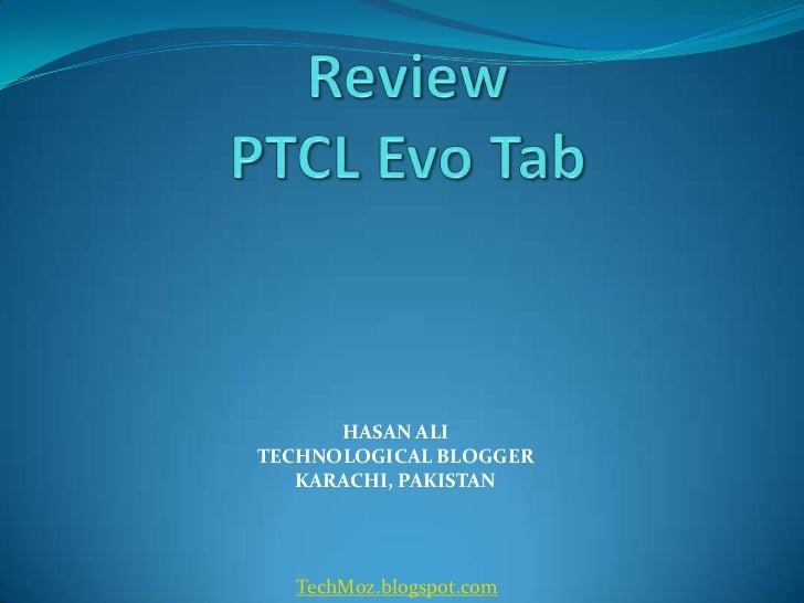 Review PTCL Evo Tab