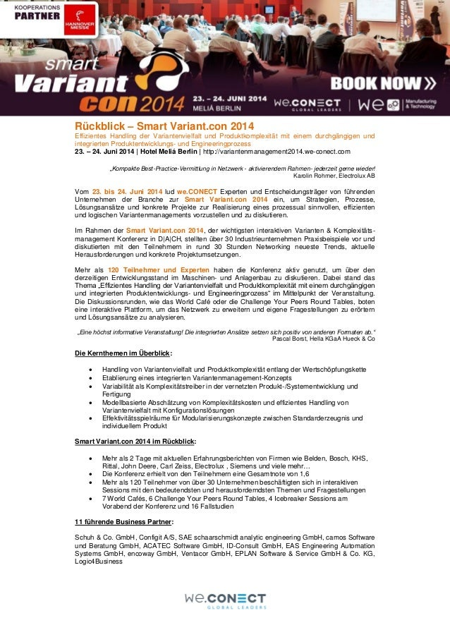 Review smart variant.con 2014