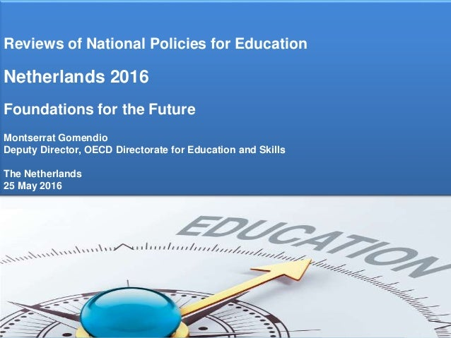 Afbeeldingsresultaat voor Review of National Policies for Education: Netherlands 2016