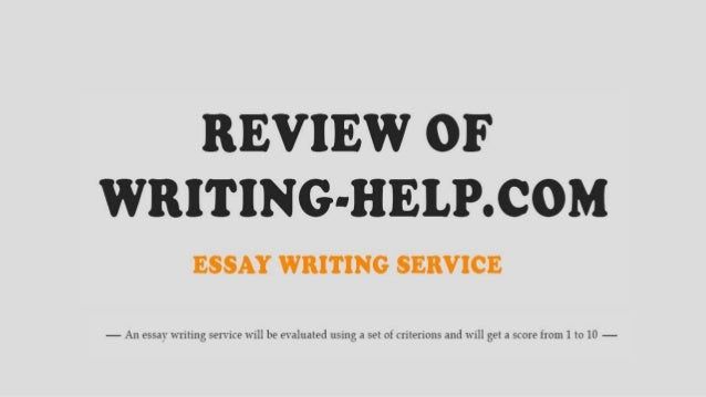 Help my essay review