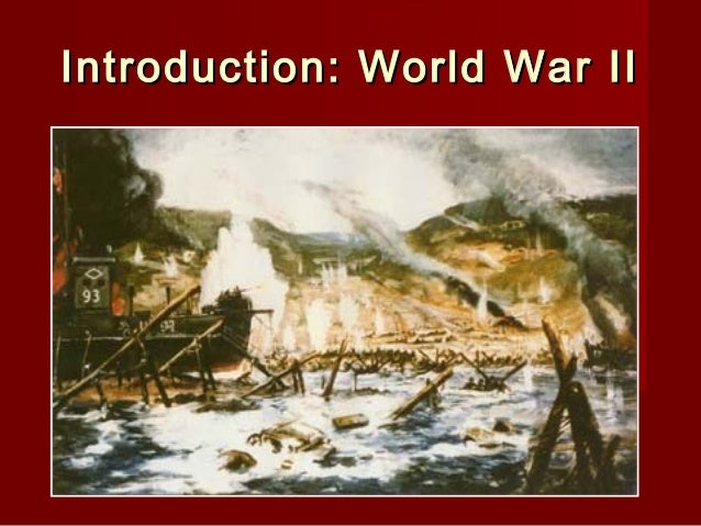 Introduction: World War II