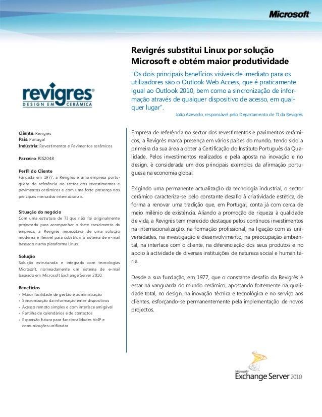 Case Study | Revigres