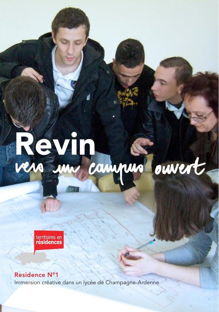 Revin   Residence N°1 Immersion créative dans un lycée de Champagne-Ardenne