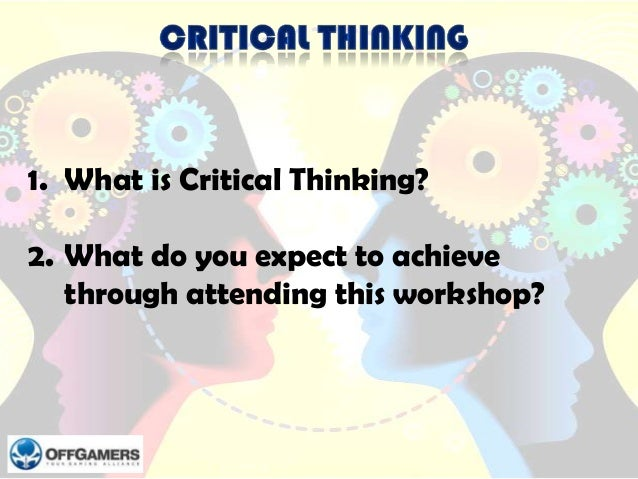 Standard Of Critical Thinking