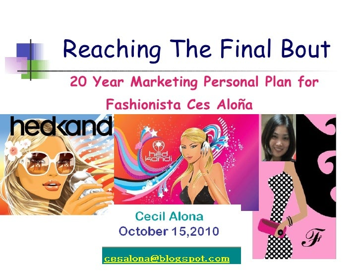 Reaching The Final Bout <ul><ul><ul><ul><li>20 Year Marketing Personal Plan for </li></ul></ul></ul></ul><ul><ul><ul><ul><...