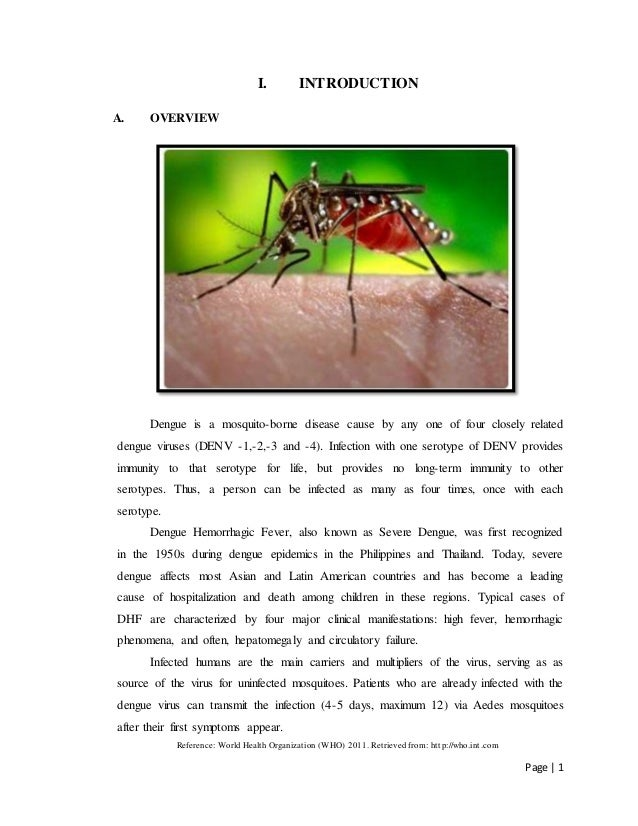 Case study :Dengue fever - SlideShare
