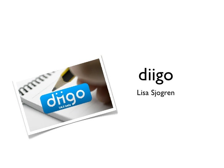 Diigo Presentation- Revised