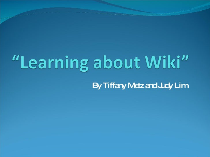 Revised How To Edit A Wiki Ppt