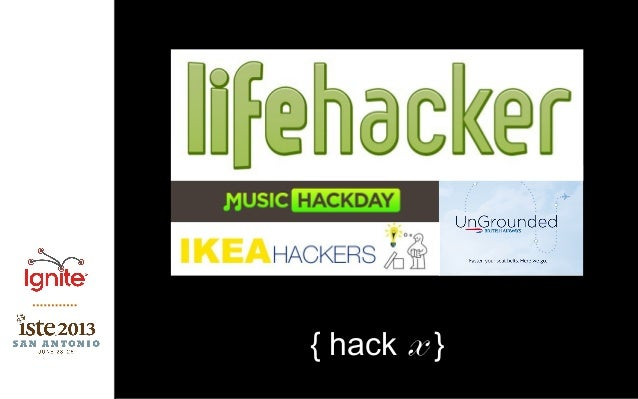 ISTE Ignite_cordy_hack the classroom