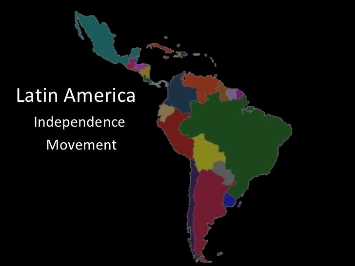 Essay/Term paper: Independence in latin america